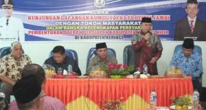 Komisi I: Pemekaran Tergantung Pemerintah Kabupaten