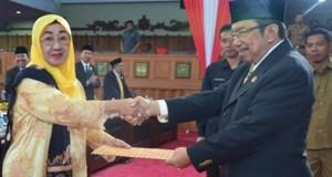 Wakil Ketua DPRD Lantik Dewan PAW