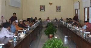 DPRD Provinsi Jambi Terima Kunjungan Dewan Empat Daerah