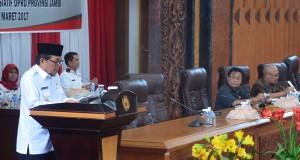 DPRD Dengarkan Tanggapan Pemerintah Atas Penyampaian Lima Ranperda Inisiatif