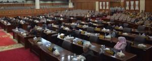 Dewan Dengarkan Tanggapan Eksekutif Atas Ranperda APBDP 2017