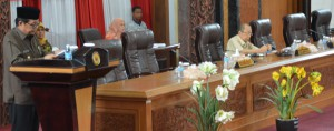 DPRD Gelar Paripurna Jawaban Pemerintah Terkait Ranperda APBD 2018