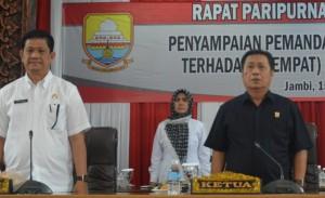 Dewan Tanggapi Empat Ranperda Provinsi