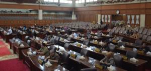 DPRD Gelar Rapat Paripurna Internal Perombakan AKD