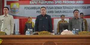 DPRD Gelar Paripurna Penyampaian Hasil Evaluasi APBD 2018