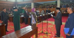 DPRD Gelar Paripurna Pelantikan Dewan PAW