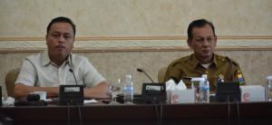 Banggar DPRD dan Pemprov Membahas Pokok Pikiran Dewan