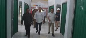 Komisi III Tinjau Pembangunan Pasar Angsoduo