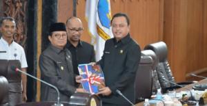 DPRD Gelar Paripurna Pengambilan Keputusan Pokok Pikiran Dewan