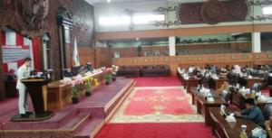 DPRD gelar Paripurna Tanggapan Pemerintah Terkait Pemandangan Fraksi