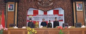 DPRD Paripurnakan Hasil Pembahasan Rancangan Awal RPJMD
