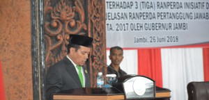 DPRD Ajukan Tiga Ranperda Inisiatif