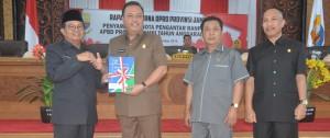 DPRD Terima Nota Pengantar RAPBD 2019