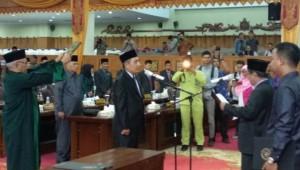 Wakil Ketua DPRD Lantik Anggota Dewan PAW