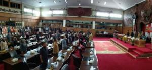DPRD Gelar Paripurna Usulan Pengangkatan Fachrori Menjadi Gubernur Jambi