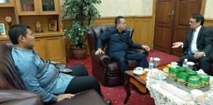 Ketua DPRD Terima Kunjungan Konjen Singapura