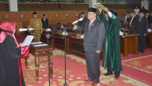 Ketua Pengadilan Tinggi Lantik Zainul Arfan sebagai Wakil Ketua DPRD