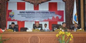 Sembilan Fraksi DPRD Tanggapi Ranperda Pertanggungjawaban Pelaksanaan APBD 2018