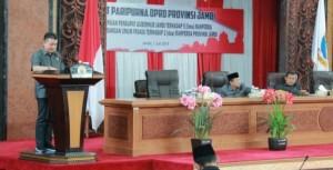 DPRD Tanggapi dua Ranperda Pemprov Jambi