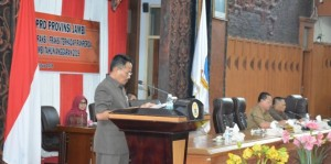 Fraksi-Fraksi DPRD Tanggapi Ranperda tentang Perubahan APBD Pemprov Jambi