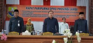 DPRD Dengarkan Jawaban Pemerintah Terkait Ranperda Perubahan APBD 2019