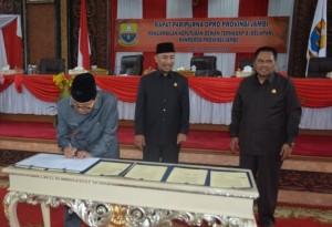 DPRD Setujui Delapan Ranperda Pemprov Jambi