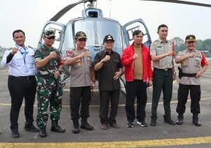 Pasca Dilantik, Ketua DPRD Sementara Langsung Pantau Karhutla