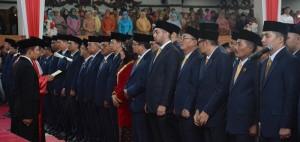 55 Anggota DPRD Provinsi Jambi Resmi Dilantik
