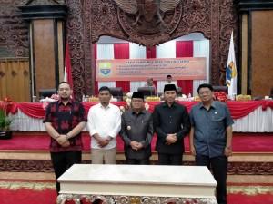 DPRD Sahkan APBD Provinsi Jambi Tahun Anggaran 2020