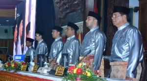 Sidang Paripurna DPRD dalam Rangka HUT ke-63 Provinsi Jambi Dihadiri Ribuan Undangan