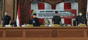 DPRD Gelar Paripurna Jawaban Pemerintah atas Pemandangan Umum Fraksi-fraksi