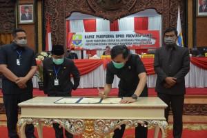 Sembilan Fraksi DPRD Setujui Ranperda Inovasi Daerah Dijadikan Perda
