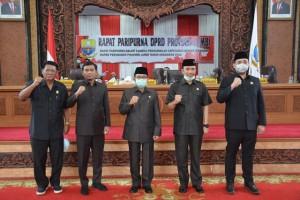 DPRD Sahkan Rancangan Perubahan APBD Provinsi Jambi 2020
