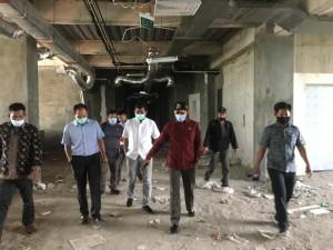 Pimpinan DPRD Minta Percepatan Pembangunan Tambahan Ruangan Isolasi