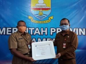 Dua kali Berturut, Website DPRD Provinsi Jambi Kembali Raih Juara I