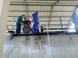 Tinjau Pabrik Aspal Karet di Muba, Ketua DPRD Edi : Insya Allah Jambi Juga Bisa