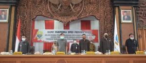DPRD Gelar Paripurna Penandatanganan Nota Kesepakatan KUA-PPAS 2021