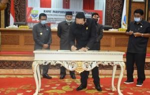 DPRD Sahkan APBD Provinsi Jambi 2021 Rp4,516 Triliun