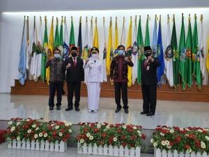Ketua DPRD Provinsi Hadiri Pelantikan Pj Gubernur,  Edi Purwanto: Selamat Datang di Jambi