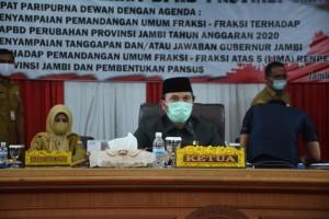 DPRD Provinsi Jambi Anggarkan Rp33 Miliar untuk Antisipasi Bencana