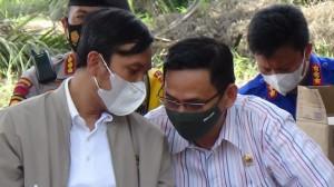 Faizal Riza Dampingi Ketua DPRD Tinjau Posko Karhula