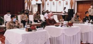 Ketua DPRD Provinsi Jambi Hadiri Rakornas Virtual Penanggulangan Bencana 2021