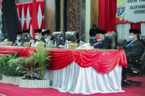Sambut HUT ke-76, DPRD Provinsi Jambi Gelar Paripurna Mendengarkan Pidato Kenegaraan Presiden Jokowi