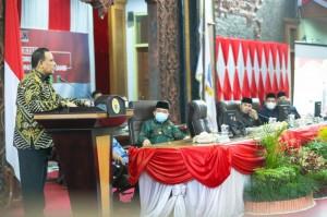 Ketua KPK Ingatkan Ketua DPRD Sejambi, Selalu Prioritaskan Anggaran untuk Kepentingan Rakyat