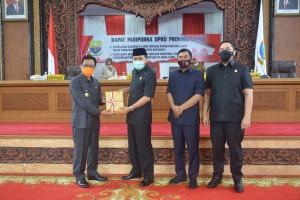 DPRD Provinsi Jambi Gelar Paripurna Bahas Penyertaan Modal ke  Bank Jambi