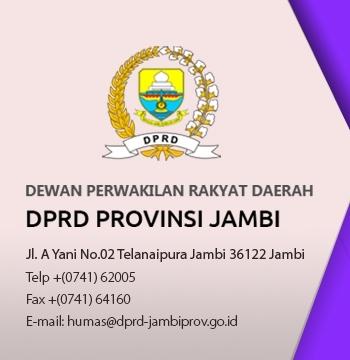 Dprd Provinsi Jambi Dprd Jambiprov Go Id